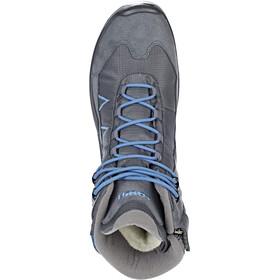 Lowa Jonas GTX Mid Chaussures Enfant, anthracite/blue